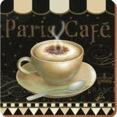 Coaster - Paris Cafe