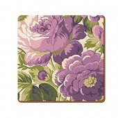 Coaster - Purple Floral EH