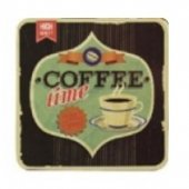 Coaster - Retro Coffee