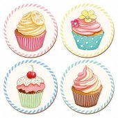 Coaster - Retro Treats Cupcake Couture