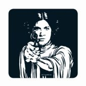 Coaster - Star Wars (Leia)