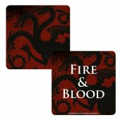 Coaster Lenticular - Game Of Thrones Targaryen
