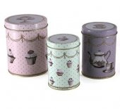 Cutie - KA Cupcake Couture - Tin Storage (Medium)