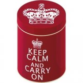 Cutie - Keep Calm and Carry On - Nesting Tins (Large)