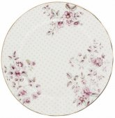 Farfurie plata - KA Ditsy Floral Side Plate White