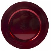 Farfurie plata - Lacquer Charger Plate Red