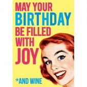 Felicitare - May Your Birthday Be Filled With Joy