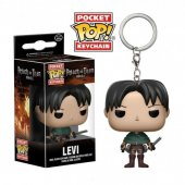 Figurina breloc - Levi Ackerman-Attack on Titan