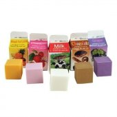 Guma de sters - Scented Erasers Milk Carton Pack Of 5