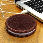 Incalzitor cana - Hot Cookie Usb Powered Cookie Shaped Cup Warmer