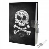 Jurnal cu lacat - My Secret Diary - Skull