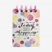 Jurnal cu spirala - Happiness XS