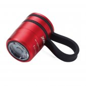 Lanterna sport -  Torch Led Sports And Safety Light Black/Red Troika