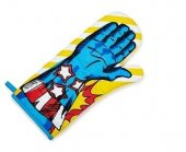 Manusa bucatarie - Superhero Oven Glove Stars and Stripes