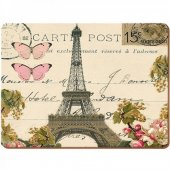 Placemat - Paris Postcard
