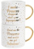 Set 2 cani - Prosecco Stacking