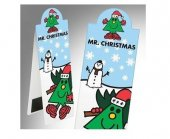 Semn carte magnetic - Bookmark Mr. Christmas