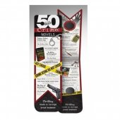 Semn de carte - 50 Best Books Bookmark - Crime