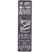 Semn de carte - Bookmark - The World