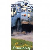 Semn de carte - Shaun The Sheep - Driving