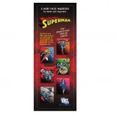 Semn de carte - Warner Bros.Mini-Marks DC - Superman