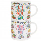 Set 2 cani - Mum And Dad Caravan