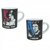 Set 2 cani - Star Wars I Love You
