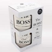 Set 2 cani haioase - The Boss and The Real Boss Stack s