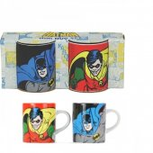 Set 2 cani in cutie cadou - Batman and Robin