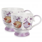 Set 2 cesti pentru cafea - Tea For Two Purple