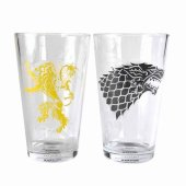 Set 2 pahare - Game Of Thrones Stark And Lanc