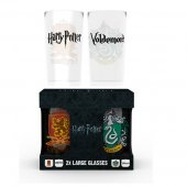 Set 2 pahare - Harry Potter Crests Large