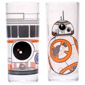 Set 2 pahare - Star Wars (BB-8)