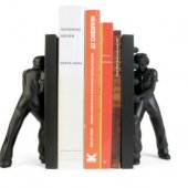 Set 2 suporturi laterale - Rosie the Riveter Pair Of Bookends