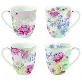 Set 4 cani - Nuova Floral s Chinoiserie