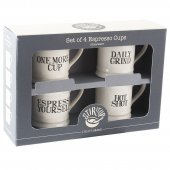 Set 4 cesti espresso - Bake Stir It Up