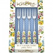 Set 4 furculite - KA English Garden Pastry Forks
