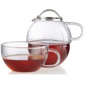 Set ceai - Tea For One Glass 600ml