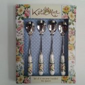 Set lingurite (4 buc) - KA English Garden Tea spoons