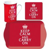 Set pentru ceai - Keep Calm & Carry On Tea Time