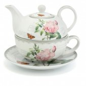 Set pentru ceai - Redoute Rose Tea For One