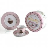Set pentru pranz - KA Cupcake Couture Afternoon Tea Set