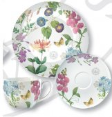 Set pentru pranz - Redoute Meadow Afternoon Tea Plate Cup and Side Plate