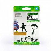 Set stickere - Action Stickers - Toy Soldier