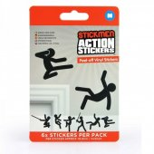 Set stickere - Stickmen Action Stickers