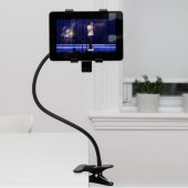 Suport clip-on pentru tableta - Gooseneck Tablet Holder