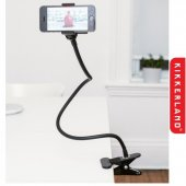 Suport clip-on pentru telefon - Gooseneck Phone Holder