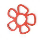 Suport oale fierbinti - Trivet Daisy Magnetic Red