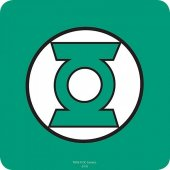 Coaster- Justice League Green Lantern Coaster