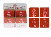 Suport pahar - Keep Calm Happy Birthday Coaster